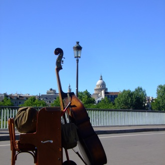 Street music, Paris, France