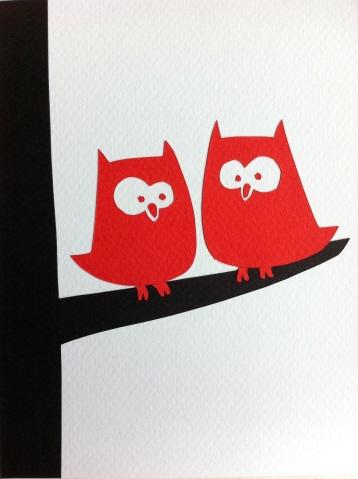 Owls (close-up)