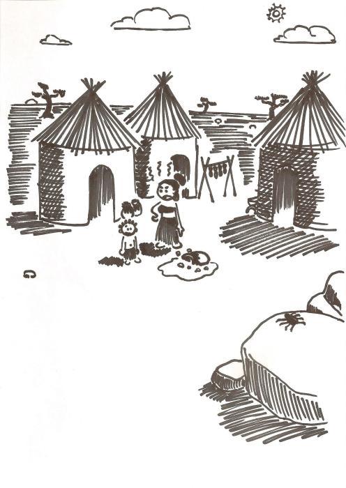 Anansi au village