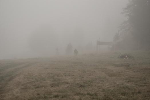 Misty morning, Beglika, Bulgaria
