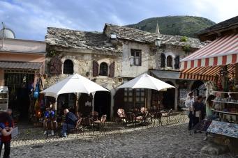Mostar café, Bosnia