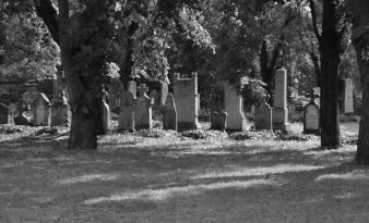 Cemetery, Budapest, Hungary